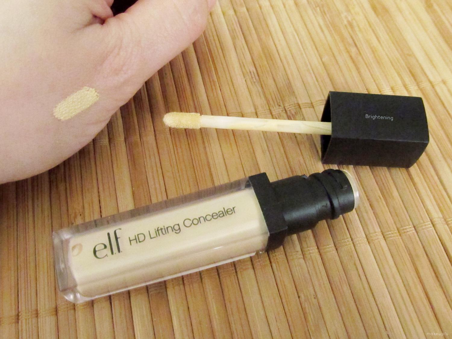 how to use elf under eye concealer and highlighter