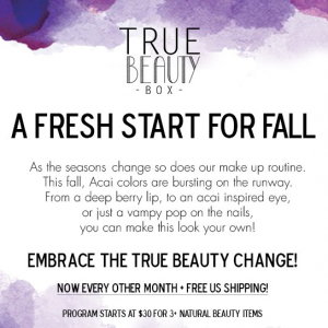 True Beauty Box September Teaser