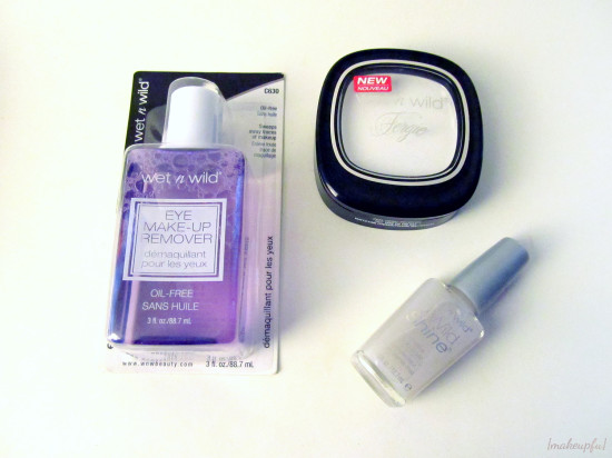 New Wet n Wild products I nabbed at Walgreens