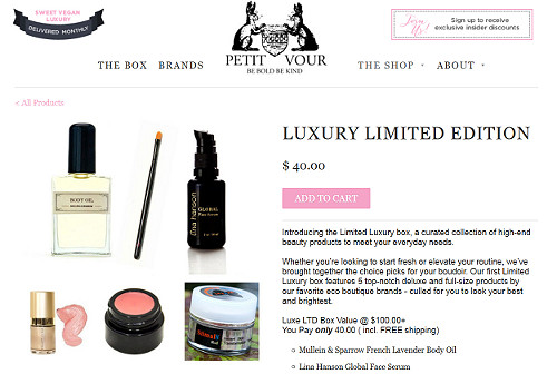 New LE Luxury Box from Petit Vour + Sneak Peek at Upcoming Boxes