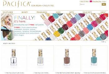 New Product: Pacifica 7 Free Nail Polish
