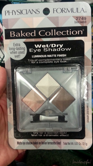 Physicians Formula Baked Eye Shadow spotted at Dollar Tree