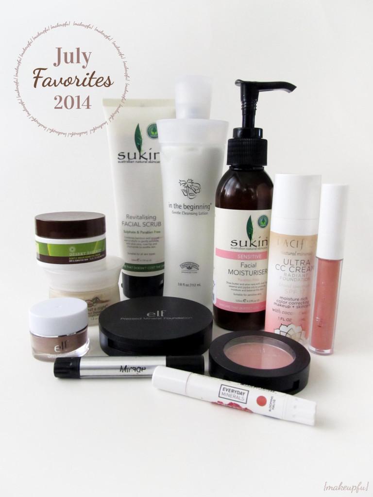 {makeupfu} Favorites for July