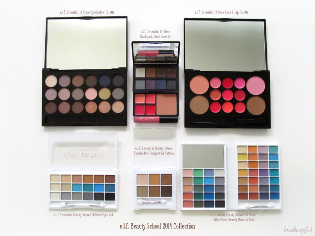 e.l.f. Beauty School 2014 Collection