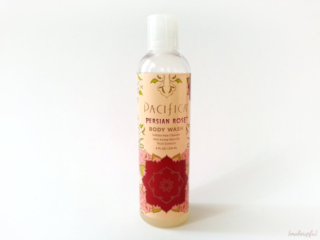 Pacifica Persian Rose Body Wash {Review}